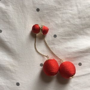 Jewelry - Red statement earrings